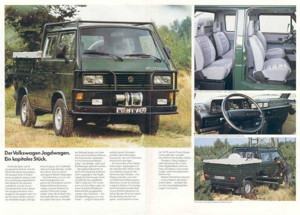 Jagdwagen T3 Syncro Articles Info T3 Busman